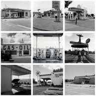 From TwentySix Abandoned Gasoline Stations, Portfolio One (1974-1990) and Portfolio Two (1991-1996)
